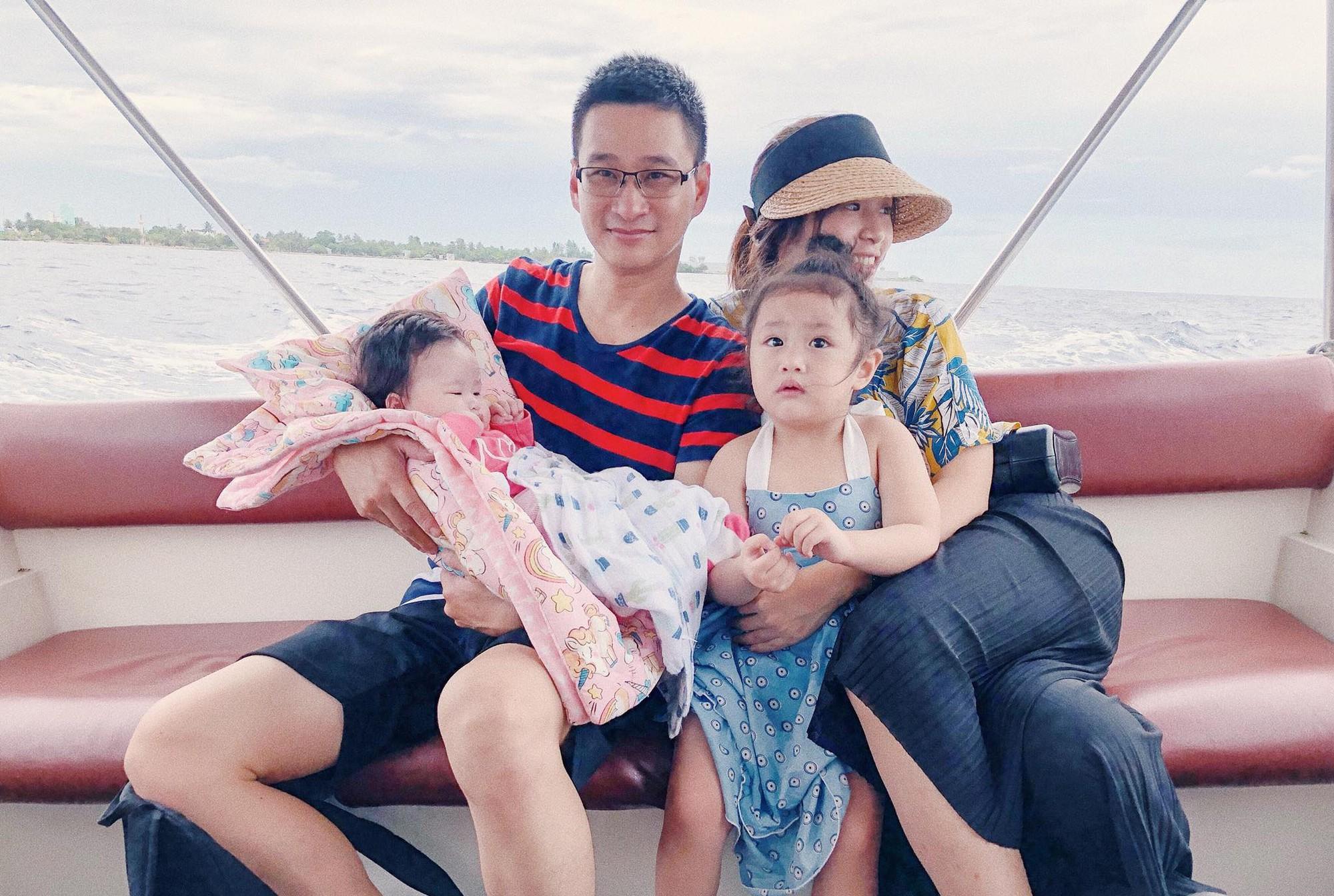 Nàng Hoa hậu người Việt tại Mỹ chia sẻ bí quyết dù con bé tí hin vẫn cùng chồng đi thiên đường tình yêu Maldives lãng mạn - Ảnh 12.