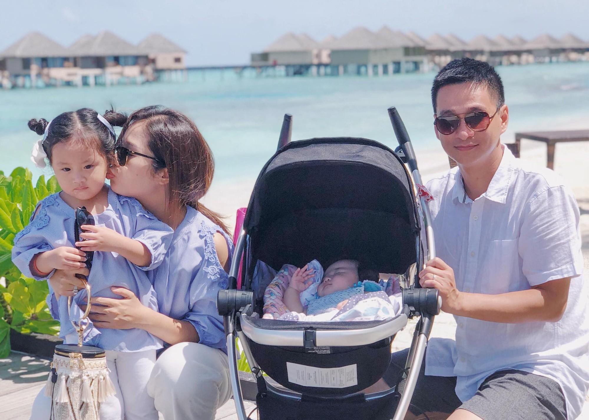 Nàng Hoa hậu người Việt tại Mỹ chia sẻ bí quyết dù con bé tí hin vẫn cùng chồng đi thiên đường tình yêu Maldives lãng mạn - Ảnh 13.