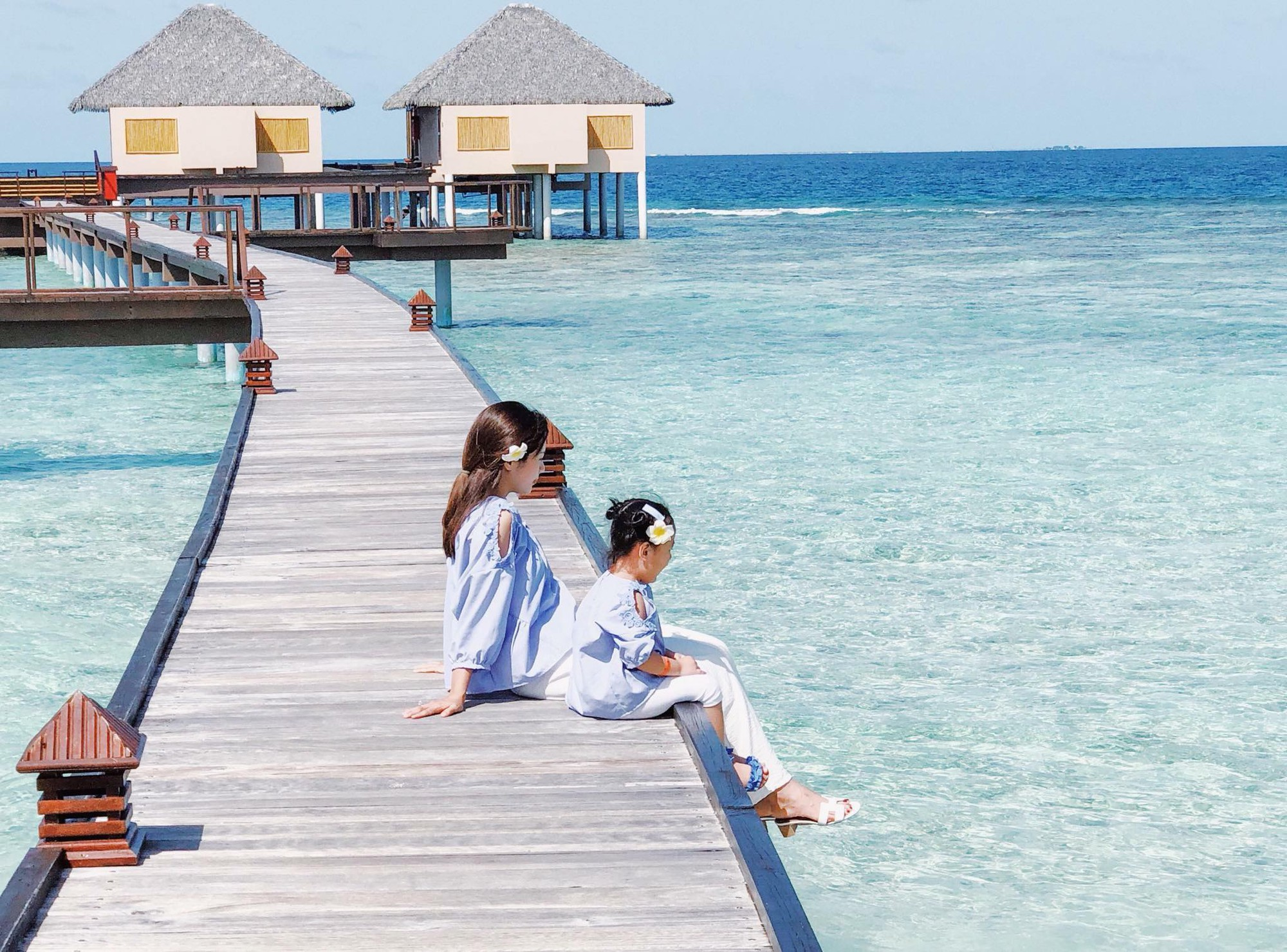 Nàng Hoa hậu người Việt tại Mỹ chia sẻ bí quyết dù con bé tí hin vẫn cùng chồng đi thiên đường tình yêu Maldives lãng mạn - Ảnh 16.