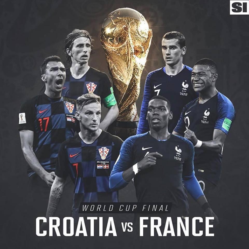 """Nào phải đến World Cup 2018, Pháp và Croatia đã mang """"mối duyên nợ"""" trong thời trang từ bấy lâu nay - Ảnh 1."""
