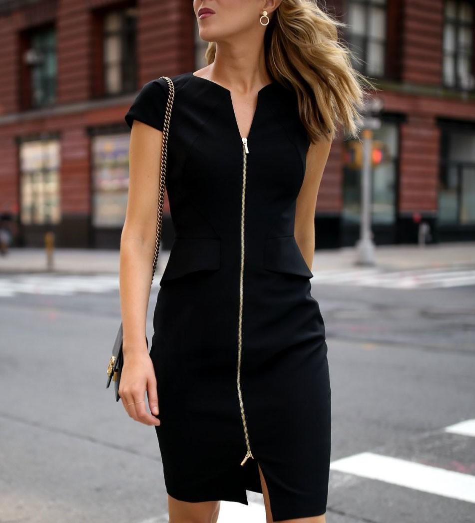 Đâu cứ phải hè là rực rỡ, 6 kiểu váy đen này sẽ giúp chị em quyến rũ hơn bao giờ hết dưới cái nắng chói chang - Ảnh 3.