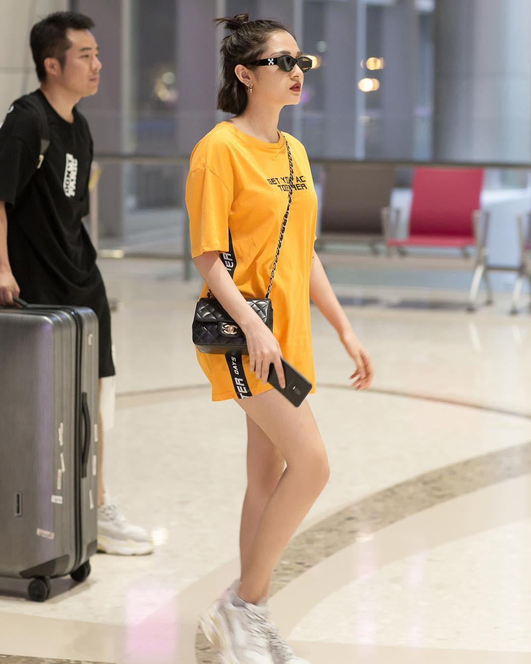 Học theo Kate và Meghan, các người đẹp Việt cũng đang diện váy áo vàng tươi chói lòa - Ảnh 11.