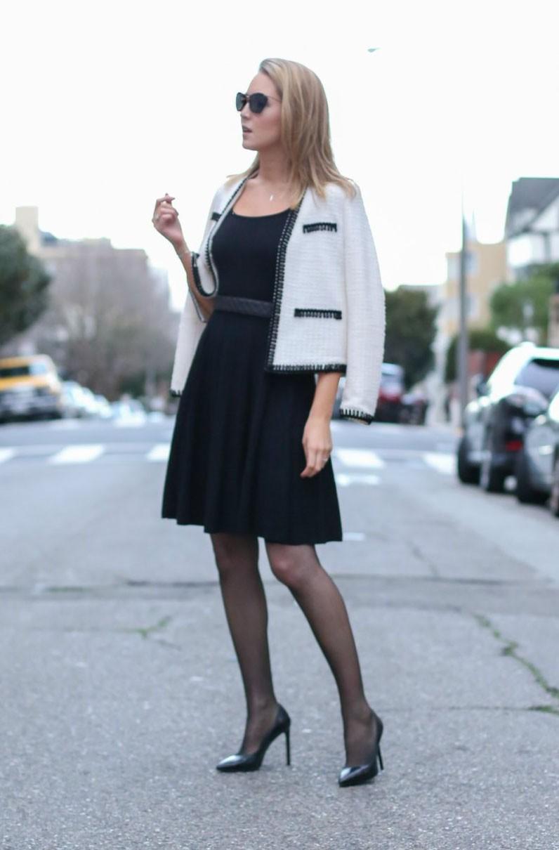 Đâu cứ phải hè là rực rỡ, 6 kiểu váy đen này sẽ giúp chị em quyến rũ hơn bao giờ hết dưới cái nắng chói chang - Ảnh 4.