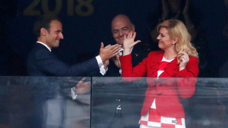Những khoảnh khắc hài hước không thể nào quên của các vị nguyên thủ quốc gia trong trận Chung kết World Cup 2018 - Ảnh 4.