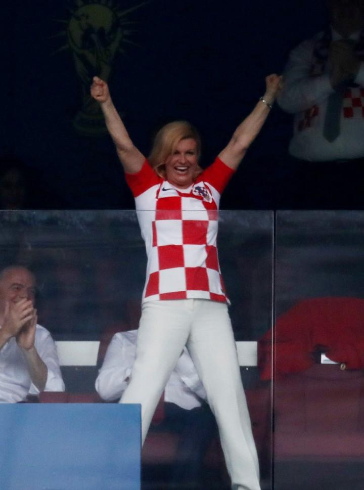 Những khoảnh khắc hài hước không thể nào quên của các vị nguyên thủ quốc gia trong trận Chung kết World Cup 2018 - Ảnh 9.