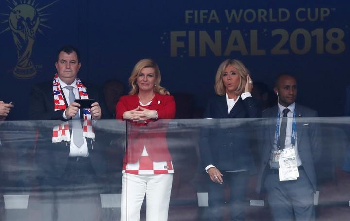 Những khoảnh khắc hài hước không thể nào quên của các vị nguyên thủ quốc gia trong trận Chung kết World Cup 2018 - Ảnh 3.
