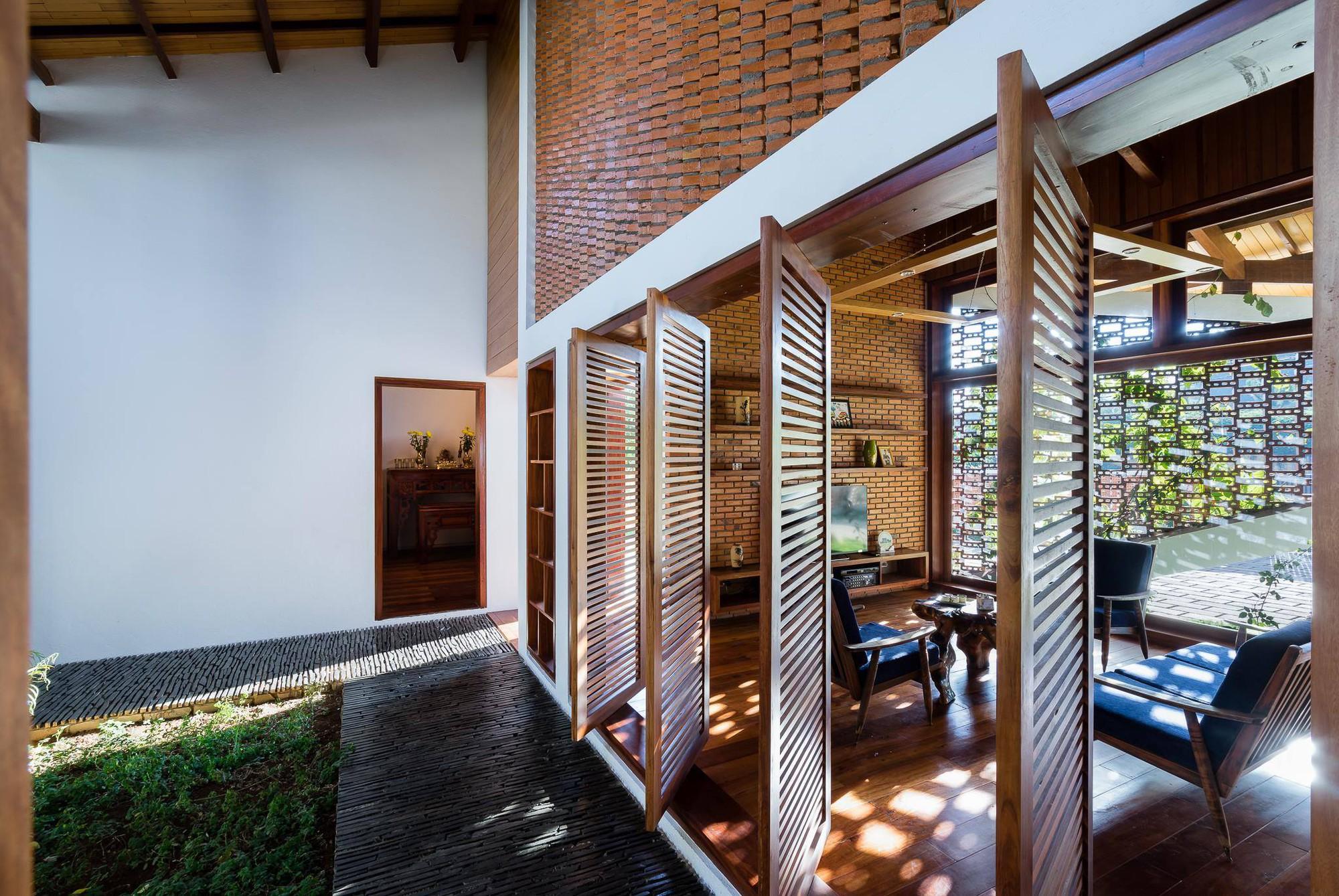 Ngôi nhà mái ngói cấp 4 đẹp như resort khiến nhiều người ước mơ ở Lâm Đồng - Ảnh 5.