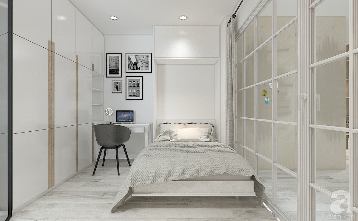 Tư vấn cải tạo phòng chưa đến 20m² thành căn hộ khép kín cho gia đình 3 người  - Ảnh 5.