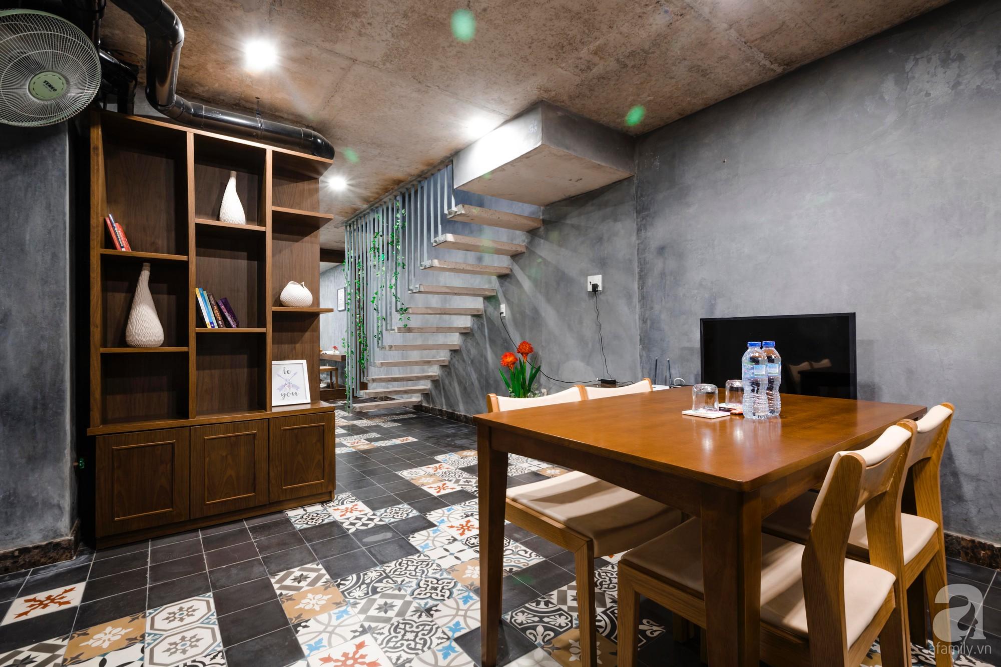 Căn hộ 55m² được cải tạo từ tầng hầm đẹp bất ngờ với điểm nhấn màu xanh biển mát lành ở TP HCM - Ảnh 5.