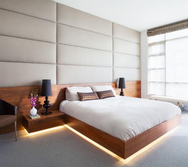 Có sự hỗ trợ của đèn led thì bộ giường ngủ đơn điệu của gia đình cũng trở nên thu hút đến bất ngờ - Ảnh 12.