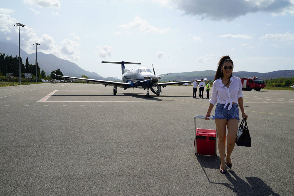 Thu Minh gây choáng với chuyến du lịch xa xỉ, sang chảnh bậc nhất từ trước đến nay - Ảnh 6.