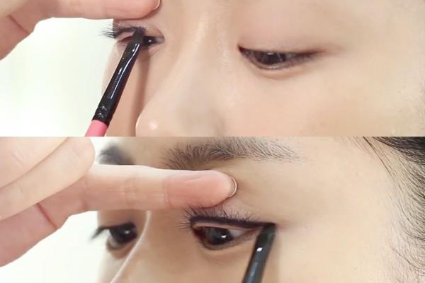 Học ngay cách kẻ mắt siêu dễ này để có ngay đôi mắt to tròn nhìn cực thu hút  - Ảnh 3.