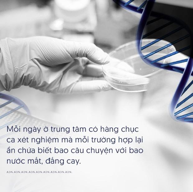 Chuyện từ trung tâm phân tích ADN: Nhiều người bất chấp, cũng không thiếu thủ đoạn tinh vi nhằm thay đổi kết quả - Ảnh 10.