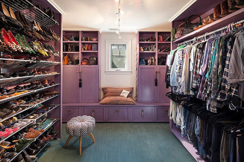 Những mẫu tủ quần áo không cửa nhìn sang, xịn bất chấp nhà rộng hay chật - Ảnh 3.