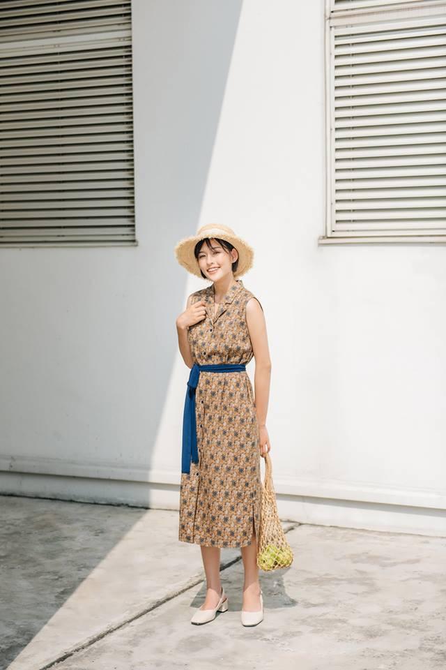 Xoa dịu cả tuần nắng nóng như đổ lửa bằng 18 mẫu váy liền sát nách đến sở làm mỗi ngày - Ảnh 4.