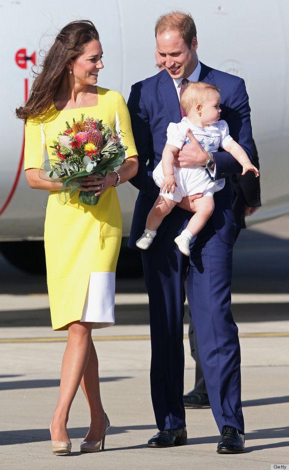 Mặc đẹp là thế, ai ngờ mẫu váy vàng rực rỡ này của Công nương Kate lại từng bị Hoàng tử William ví như 1 quả chuối - Ảnh 4.