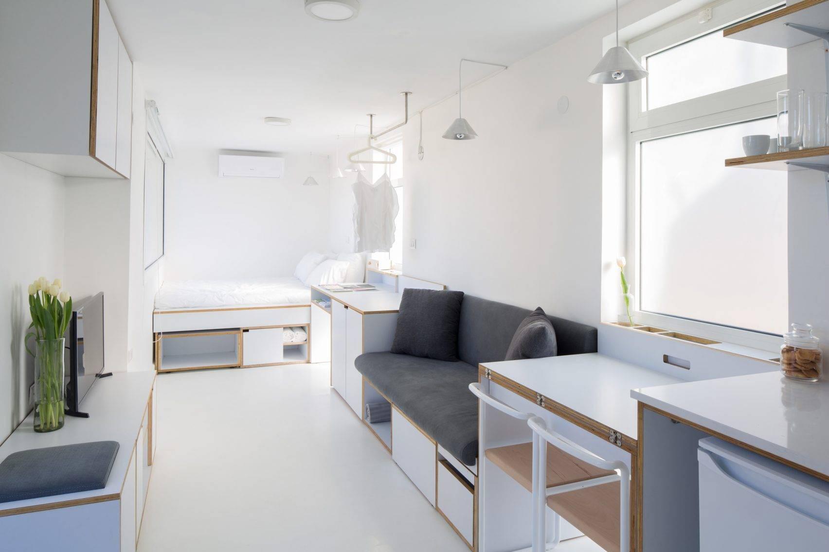 Cuộc sống tiện nghi, đủ đầy chỉ gói ghém vỏn vẹn trong căn hộ nhỏ 15m² - Ảnh 2.