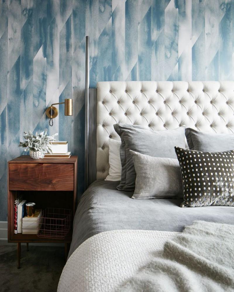 Những mẫu giấy dán tường siêu ấn tượng để bạn lựa chọn cho phòng ngủ gia đình - Ảnh 15.