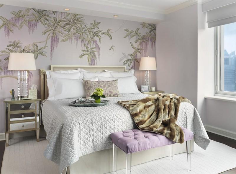 Những mẫu giấy dán tường siêu ấn tượng để bạn lựa chọn cho phòng ngủ gia đình - Ảnh 6.