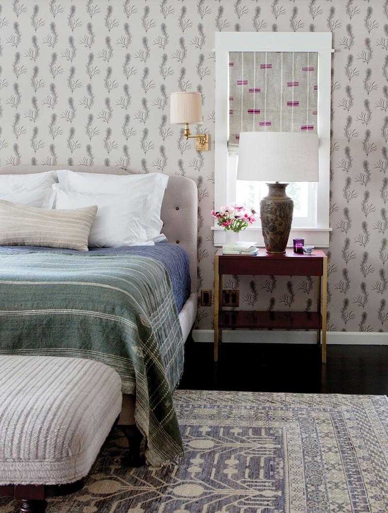 Những mẫu giấy dán tường siêu ấn tượng để bạn lựa chọn cho phòng ngủ gia đình - Ảnh 7.
