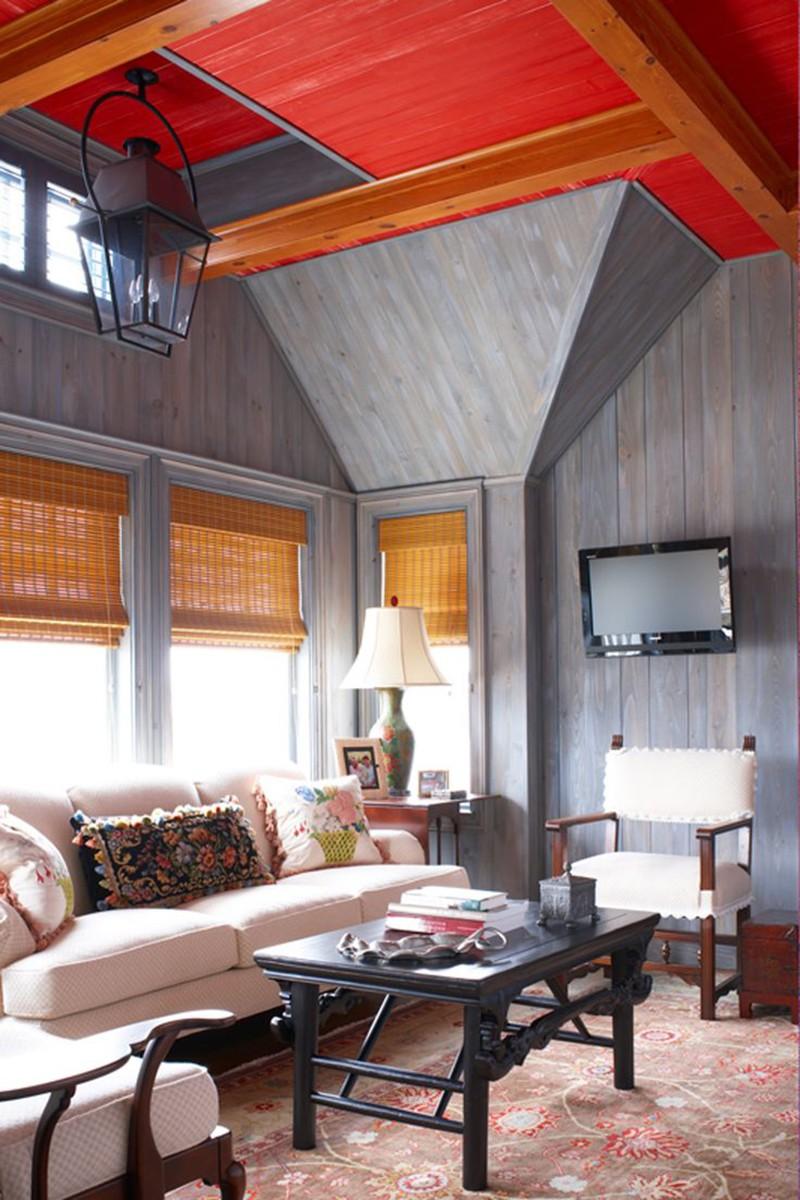 Đừng lúc nào cũng chỉ dùng trần nhà bằng thạch cao khi mà bạn còn có biết bao lựa chọn khác nữa - Ảnh 11.