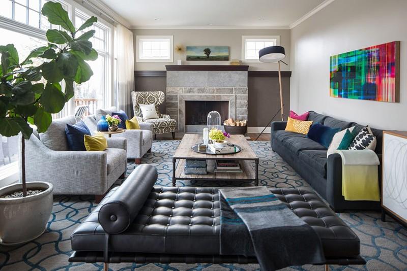 Nhìn xem bạn có thể học hỏi được rất nhiều từ những căn phòng khách có thiết kế hoàn hảo này - Ảnh 13.