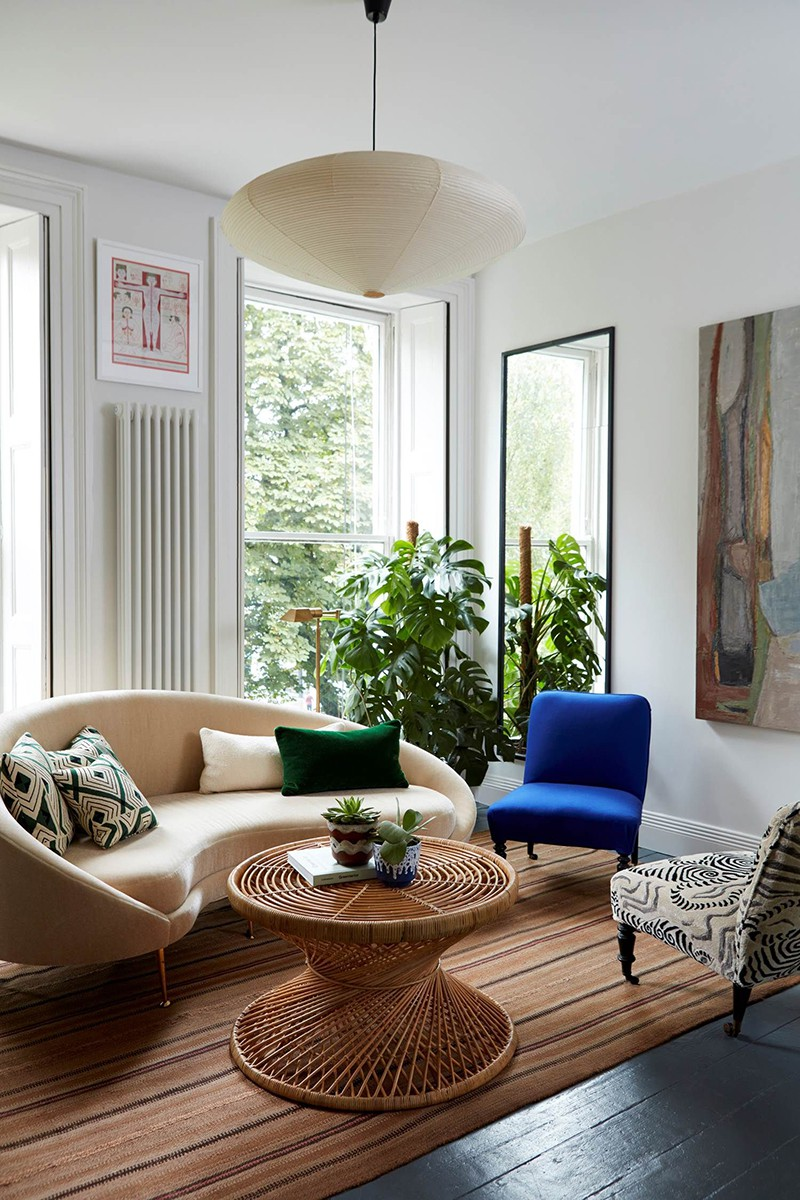 Nhìn xem bạn có thể học hỏi được rất nhiều từ những căn phòng khách có thiết kế hoàn hảo này - Ảnh 2.