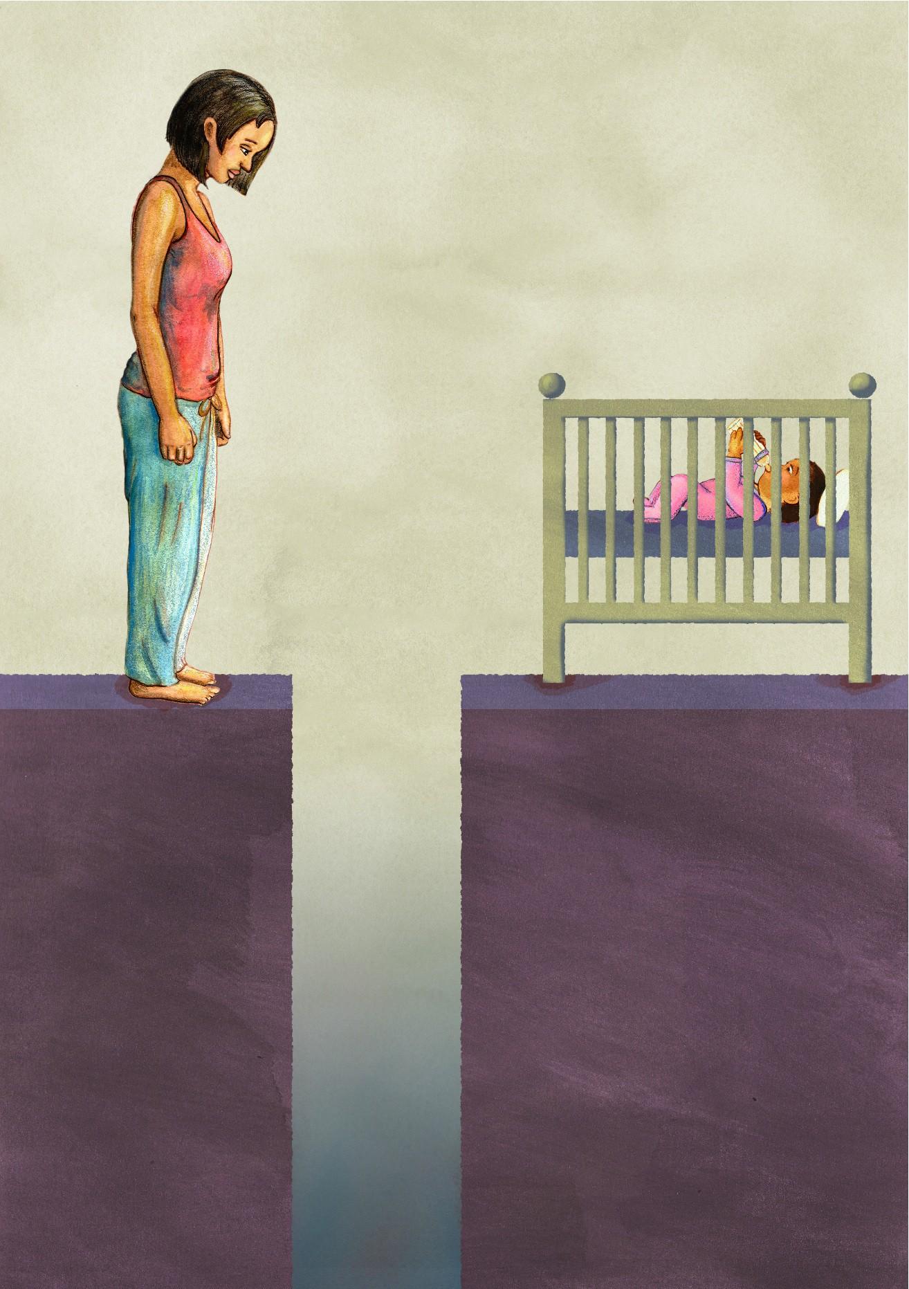 Vụ mẹ thắt cổ con và cháu nhỏ ở Hà Nội: Những thảm kịch đau lòng vì chứng trầm cảm của người mẹ gây nên cái chết của trẻ thơ - Ảnh 3.
