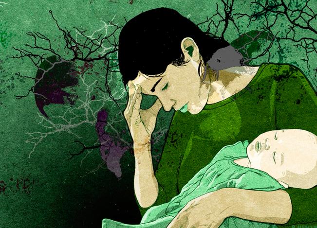 Vụ mẹ thắt cổ con và cháu nhỏ ở Hà Nội: Những thảm kịch đau lòng vì chứng trầm cảm của người mẹ gây nên cái chết của trẻ thơ - Ảnh 7.