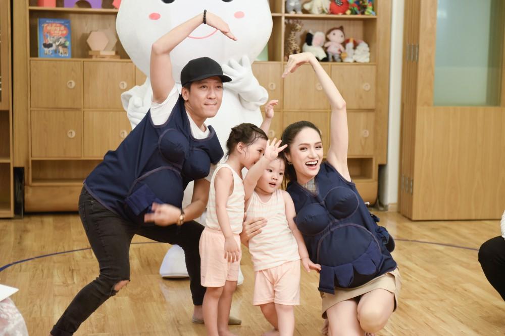 Trấn Thành - Hari Won gây cười không ngớt khi dạy trẻ con nói nhiều - nói ít  - Ảnh 8.