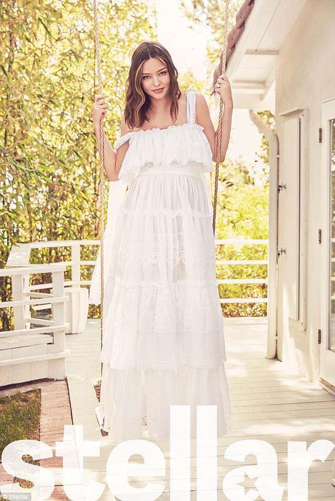 Miranda Kerr: Mẹ bỉm sữa 2 con