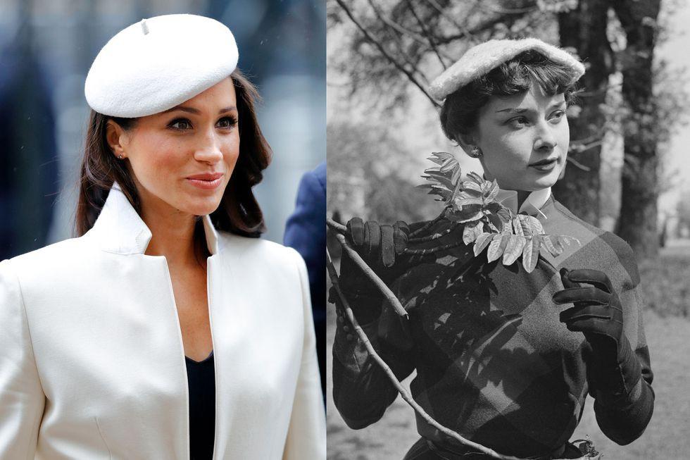 Chẳng phải công nương Diana hay Kate Middleton, dường như Audrey Hepburn mới là thần tượng thời trang của Meghan Markle - Ảnh 4.