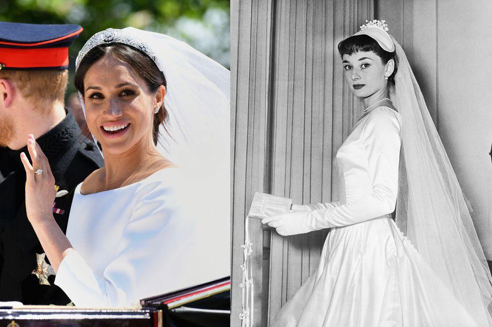 Chẳng phải công nương Diana hay Kate Middleton, dường như Audrey Hepburn mới là thần tượng thời trang của Meghan Markle - Ảnh 1.