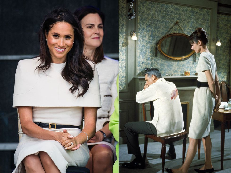 Chẳng phải công nương Diana hay Kate Middleton, dường như Audrey Hepburn mới là thần tượng thời trang của Meghan Markle - Ảnh 5.
