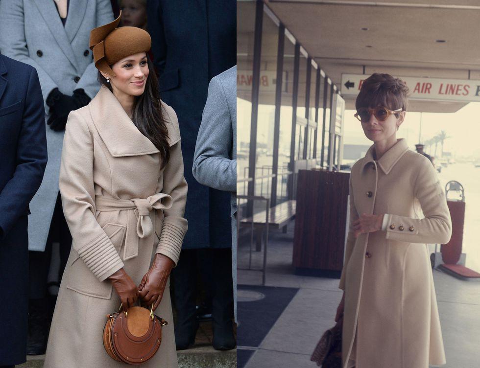 Chẳng phải công nương Diana hay Kate Middleton, dường như Audrey Hepburn mới là thần tượng thời trang của Meghan Markle - Ảnh 6.