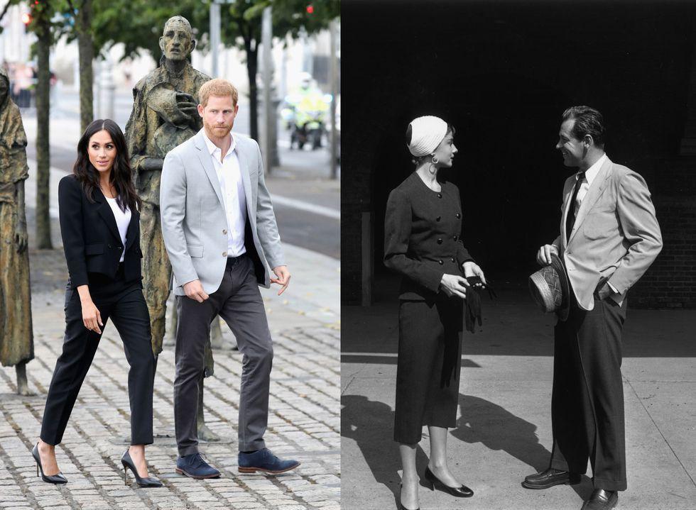 Chẳng phải công nương Diana hay Kate Middleton, dường như Audrey Hepburn mới là thần tượng thời trang của Meghan Markle - Ảnh 8.