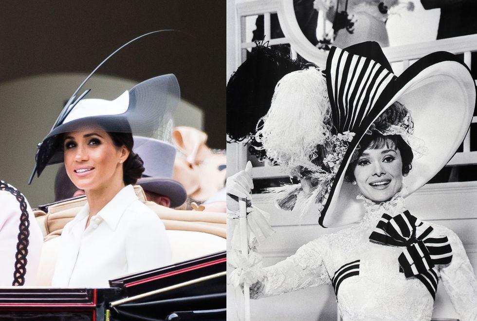 Chẳng phải công nương Diana hay Kate Middleton, dường như Audrey Hepburn mới là thần tượng thời trang của Meghan Markle - Ảnh 9.