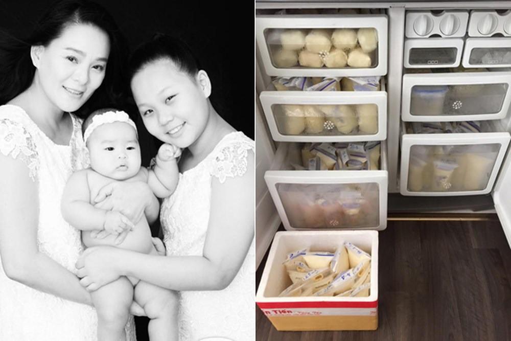 Các bà mẹ sao Việt dù bận rộn cách mấy vẫn trữ cả tủ lạnh sữa mẹ hoành tráng cho con khiến chị em ngưỡng mộ - Ảnh 12.