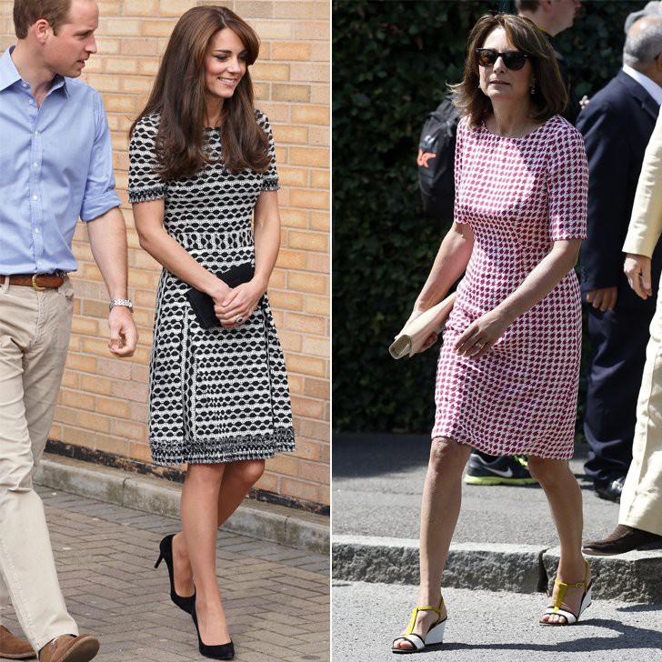 Ngắm nhìn phong cách của mẹ đẻ Công nương Kate mới biết sự thanh lịch, duyên dáng của cô đúng là được thừa hưởng từ mẹ mình - Ảnh 2.