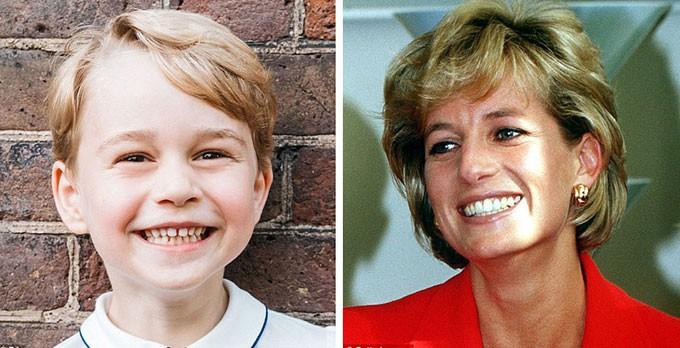 Người hâm mộ tinh ý nhận ra những khoảnh khắc giống nhau giữa Công nương Diana với 3 cháu nội George, Charlotte và Louis - Ảnh 2.