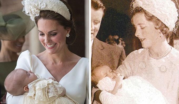 Người hâm mộ tinh ý nhận ra những khoảnh khắc giống nhau giữa Công nương Diana với 3 cháu nội George, Charlotte và Louis - Ảnh 3.
