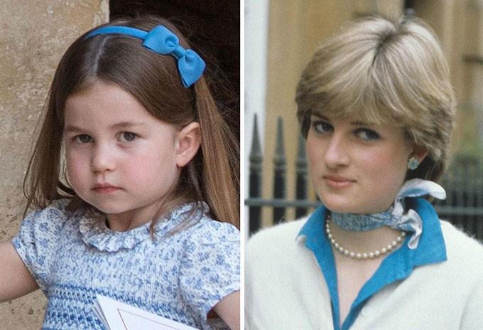 Người hâm mộ tinh ý nhận ra những khoảnh khắc giống nhau giữa Công nương Diana với 3 cháu nội George, Charlotte và Louis - Ảnh 5.