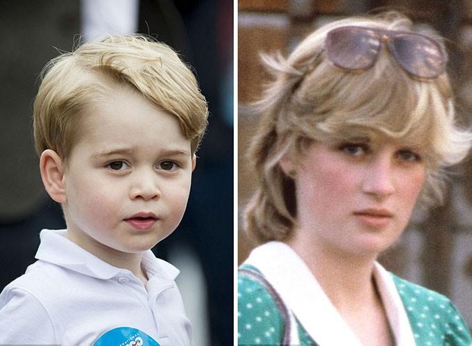 Người hâm mộ tinh ý nhận ra những khoảnh khắc giống nhau giữa Công nương Diana với 3 cháu nội George, Charlotte và Louis - Ảnh 6.