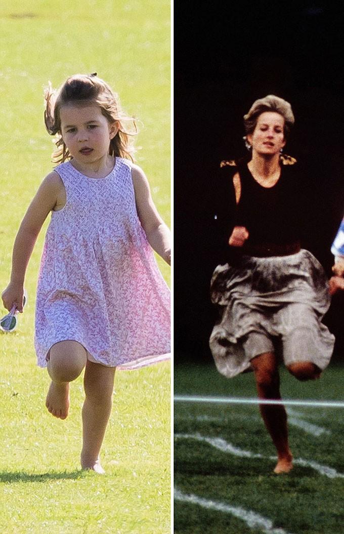 Người hâm mộ tinh ý nhận ra những khoảnh khắc giống nhau giữa Công nương Diana với 3 cháu nội George, Charlotte và Louis - Ảnh 8.