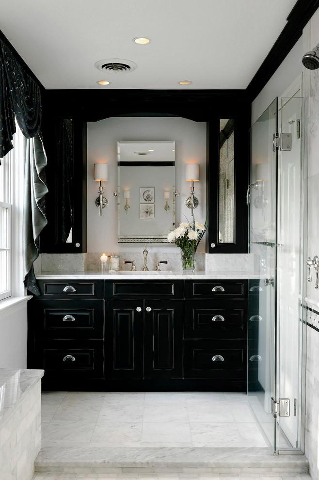 Trang trí nhà với hai gam màu đen và trắng sẽ khiến không gian sống của bạn không bao giờ bị lỗi mốt - Ảnh 2.