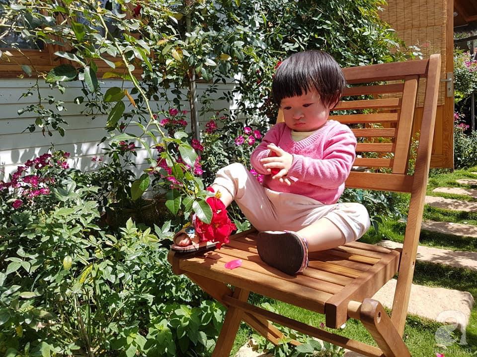 Người bố trồng cả vườn hồng đẹp như mơ để dành tặng con gái yêu ở Đà Lạt - Ảnh 3.
