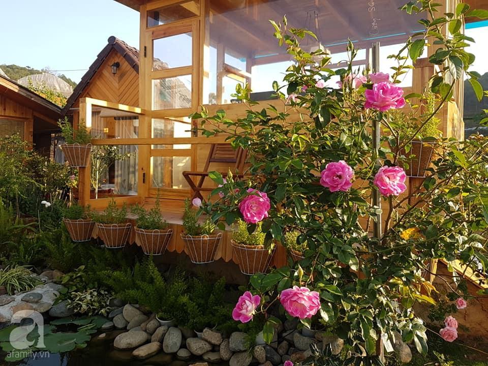 Người bố trồng cả vườn hồng đẹp như mơ để dành tặng con gái yêu ở Đà Lạt - Ảnh 14.