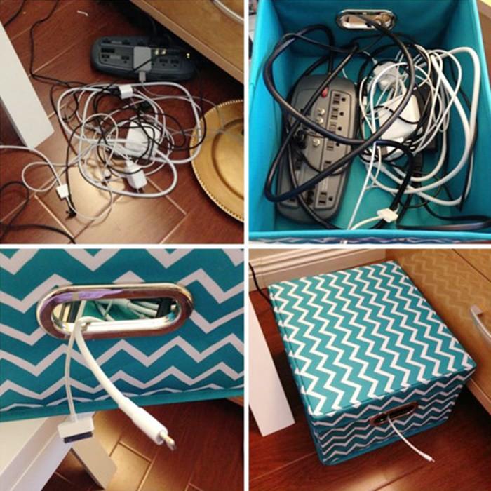 Vài mẹo đơn giản tinh tế giúp giấu hết đám dây điện rối tung vừa nguy hiểm vừa khiến nhà bạn kém sang - Ảnh 12.