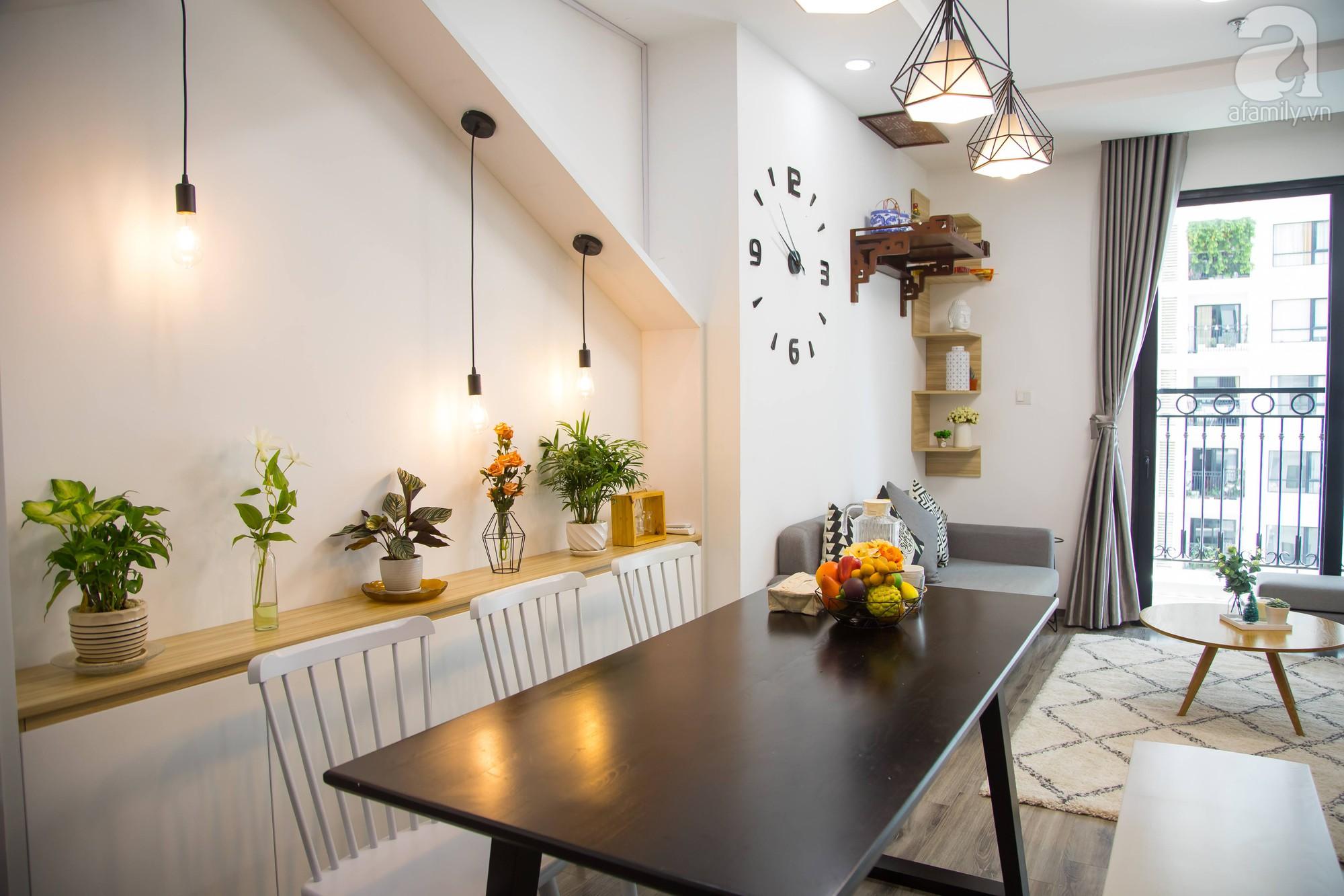 Căn hộ trên tầng cao đẹp duyên dáng với phong cách Scandinavian giữa lòng Hà Nội của đôi vợ chồng trẻ - Ảnh 12.