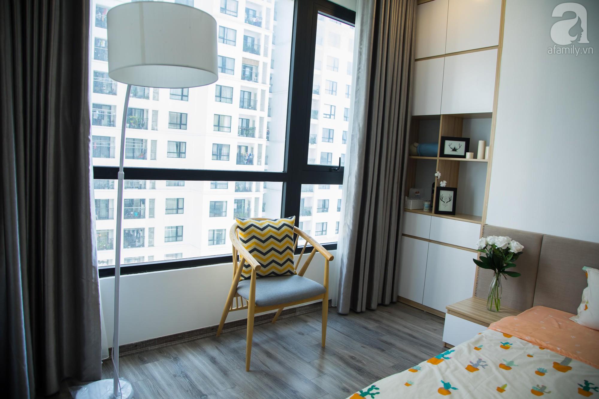 Căn hộ trên tầng cao đẹp duyên dáng với phong cách Scandinavian giữa lòng Hà Nội của đôi vợ chồng trẻ - Ảnh 21.